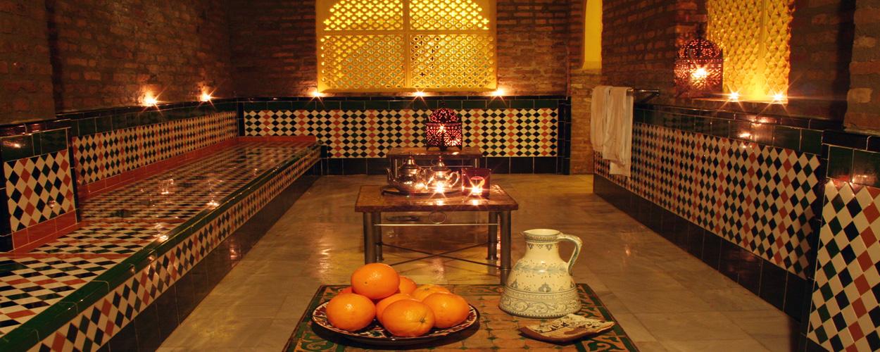 Baños Arabes Aljibe Granada:Baños Arabes Aljibe de San Miguel